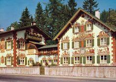 Hansel Gretel House in Oberammergau, Bavaria Germany.
