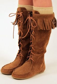 Lace Up Moccasin Boot at Nectar Clothing