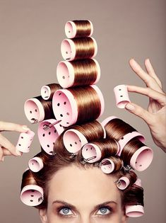 Love Big Hair, been there, done this to get there - but the rollers look better and stacked perfectly - pain in neck, my arms would fall off if I tried to do this myself - sigh leave my updo's for the experts ! Salon Quotes, Hair Quotes, Vintage Hairstyles, Cool Hairstyles, Whoville Hair, Vintage Hair Salons, Hairdresser Quotes, Curlers, Beauty Shop