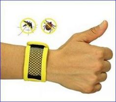 Natural Outdoor Mosquito Repellent Wristband.