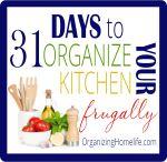 Recipe Binder Organization & Duo Binder Giveaway ~ Organize Your Kitchen Frugally Day 30