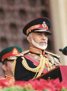 اللهم انه قلب عمان فحميه لنا ❤ Sultan Oman, Oman National Day, Sultan Qaboos, Charcoal Suit, Beautiful People, Captain Hat, Fashion Outfits, History, Arabic Quotes