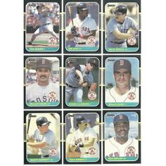 1987 Donruss DIifferent RED SOX complete team set 27 cards lot 3 HOFers Clemens Listing in the 1980-1989,Sets,MLB,Baseball,Sports Cards,Sport Memorabilia & Cards Category on eBid United States | 147730140