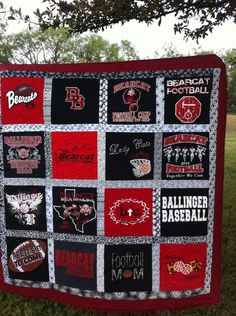 Best Looking T Shirt Quilt I Ve Seen I Like The Black