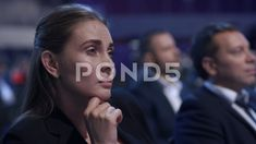 Stock video footage Business Meeting at Economic Lecture. Concept of Modern Lifestyle of Caucasian Female in Company Staff. Business Woman Successful, Business Women, Business Meeting, Video Footage, Model Release, Teamwork, Stock Footage, Most Beautiful Pictures, Crowd