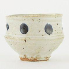 Warren MacKenzie Studio Pottery Dotted Tea Bowl M - Nov 2019 Slab Pottery, Pottery Vase, Ceramic Pottery, Ceramic Bowls, Ceramic Mugs, Stoneware, Warren Mackenzie, Sculpture Clay, Ceramic Sculptures