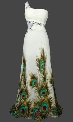 Im in love! Gatsby Inspired Mermaid Sheer Vintage Look 1920 Art Deco Peacock Cocktail Dress #Unbranded #BallGown #Formal