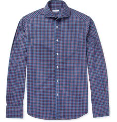Michael Bastian - Slim-Fit Check Cotton Shirt | MR PORTER