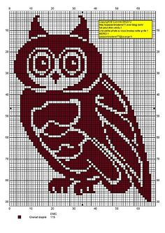 Site with tons of free cross stitch charts-including 60 owls!