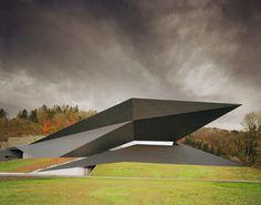 Безумная геометрия концертного зала в Австрии