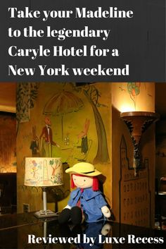 There really is no rival in glamour than the Carlyle Hotel for a family trip to New York in the heart of the Upper East Side. A Rosewood Hotel near Central Park