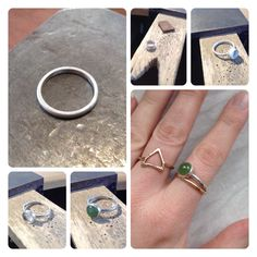 The making of Lorraine's ring!...