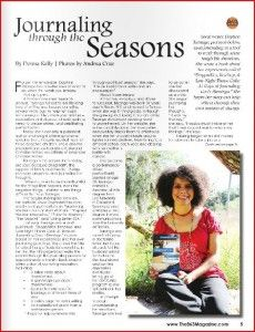 Journaling through the Seasons | Donna Kelly at The 863 Magazine