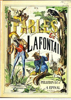 Fables de La Fontaine - Images d'Épinal - Couverture - BnF