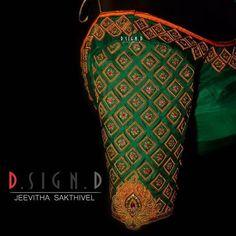Wedding Saree Blouse Designs, Pattu Saree Blouse Designs, Blouse Designs Silk, Designer Blouse Patterns, Kids Blouse Designs, Hand Work Blouse Design, Stylish Blouse Design, Embroidery Neck Designs, Embroidery Blouses