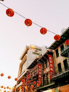 China Town, San Francisco, Ca.