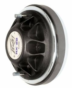"""Peavey RX22 High Frequency Compression Driver by Peavey. $94.99. 2"""" - Throat Parameter: .875"""" / 22 mm - Nominal Impedance: 8 Ohms - Minimum Impedance: 5.1 Ohms - DC Resistance: 4.7 Ohms - Power Capacity 1000 Hz to 20,000 Hz: 280 W peak 140 W program 70 W continuous using pink noise band limited from 1000 Hz to 20 kHz (AES 2-1984) - Power Capacity 500 Hz to 20,000 Hz: 240 W peak 120 W program 60 W continuous using pink noise band limited from 500 Hz to 20 kHz - Sensit..."""