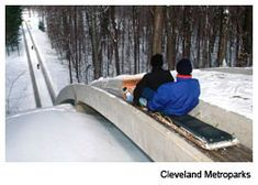 The Chalet's Toboggan Chutes, Strongsville, Ohio, Cleveland Metroparks, Cleveland Magazine This was one of my favorite things to do. We would get hot chocolate to try to warm up. Weekend Trips, Vacation Trips, Vacation Spots, Day Trips, Vacation Ideas, Vacations, Cleveland Ohio, Cleveland Rocks, Columbus Ohio