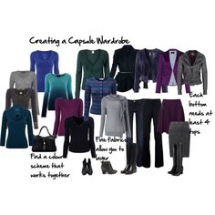 """Creating a Capsule Wardrobe"" by imogenl on Polyvore"