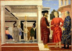 Piero della Francesca, Flagellazione di Urbino