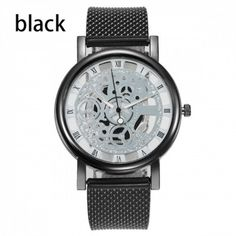 Hollow Out Quartz Watch Stainless Steel Mesh, Islamkot Stainless Steel Mesh, Mechanical Watch, Quartz Watch, Michael Kors Watch, Watches For Men, Mens Fashion, Luxury, Stuff To Buy, Moda Masculina