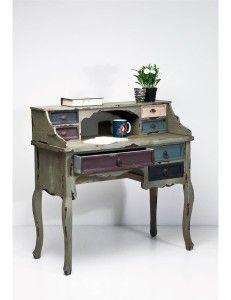 11130814_max_900_1200_dla-domu-do-biura-meble-biurowe-biurka-kare-design-casolare-postarzany-drewniany-sekretarzyk-vintage-76888