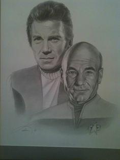 Star Trek Enterprise Captains Kirk
