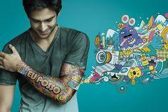 Cliente: Oi | Foto: Bruno Calls | Agência: NBS | Pós Produção: Fujocka Criative Images