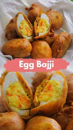 Easy Samosa Recipes, Pakora Recipes, Chaat Recipe, Spicy Recipes, Egg Recipes Indian, Indian Dessert Recipes, Dinner Recipes, Vegetarian Fast Food, Diy Food