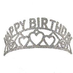 """""""Happy Birthday"""" Heart Tiara  $12.95"""