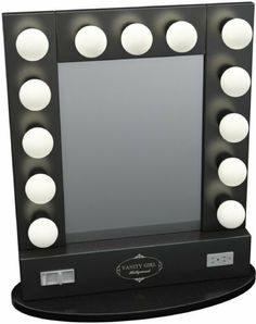 Hollywood Vanity Makeup Mirror With Lights Built In