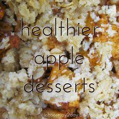 Baking Fall Treats: Healthier Apple Desserts