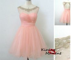 Cute Pink Short prom dresses, Discount Simple Short Sweetheart Pink bridesmaid dress, Pink Cocktail dress,Cheap New Homecoming dresses,9080 on Etsy, $89.99