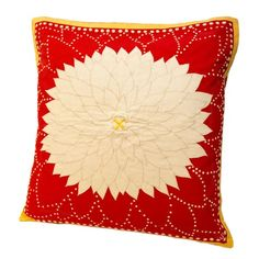 I pinned this Dahlia Pillow in Red from the Sun Room event at Joss and Main!