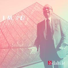 """Ieoh Ming Pei es un arquitecto nacido en China con estudios realizados en Estados Unidos. En 1955 fundó su propia compañía ganando innumerables premios incluyendo el prestigioso Premio Pritzker en 1983.   Hoy a sus 99 años su obra más importante es la entrada en forma de pirámide al museo Louvre ubicado en París que en su momento causó gran controversia entre la nación francesa llegando a ser considerada como una """"atrocidad""""."""