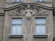 Facade. Vienna, Austria.