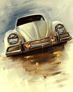 New Old Cars Vintage Volkswagen Vw Bus 43 Ideas Carros Retro, Carros Vw, Vw Bugs, Beetles Volkswagen, Volkswagen Bus, Vw Camper, Kdf Wagen, Vw Classic, Bmw Autos
