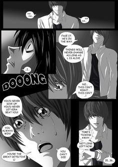 Death Note Doujinshi Page 52 by Shaami on DeviantArt