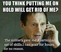 Hurry up and wait. I can wait forever. Military Jokes, Army Humor, Military Spouse, Military Veterans, Military Wife Funny, Funny Army, Military Pins, Military Orders, Military Art