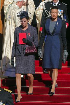 Carolina de Mónaco presume de nieto el Día Nacional de Mónaco junto a su hermano, Alberto y la princesa Charlene
