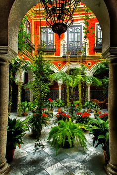andalucia courtyard - Google Search