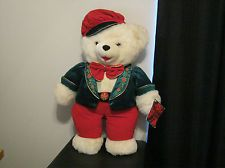 "Large 24"" Dan Dee Snowflake Teddy Bear (2001)"