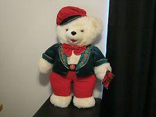 "Large 24"" Dan Dee Snowflake Teddy Bear (2001)"