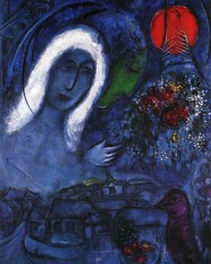 "2,901 Likes, 15 Comments - Art History Feed (@arthistoryfeed) on Instagram: ""Field of Mars. Marc Chagall, 1955. #marcchagall #art #arthistory"""