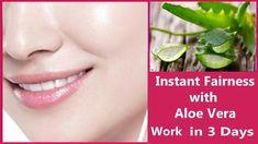 Aloe Vera Gel For Skin Whitening Natural Skin Whitening, Salicylic Acid, Aloe Vera Gel, Fair Skin, Skin Problems, Amino Acids, Collagen, The Cure, Moisturizer