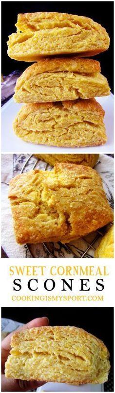 Sweet Cornmeal Scones