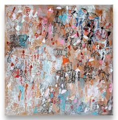 "Saatchi Art Artist Sarah Giannobile; Painting, ""Living Form"" #art"