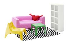 New Ikea Dollhouse Furniture Set. 1:6 scale.