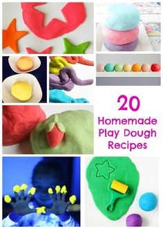 20 of the best Homemade Play Dough Recipes