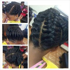 Very nice protective style for little girls.